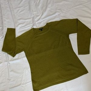 Eileen Fisher Cashmere/Cotton LtWt Sweater, EUC